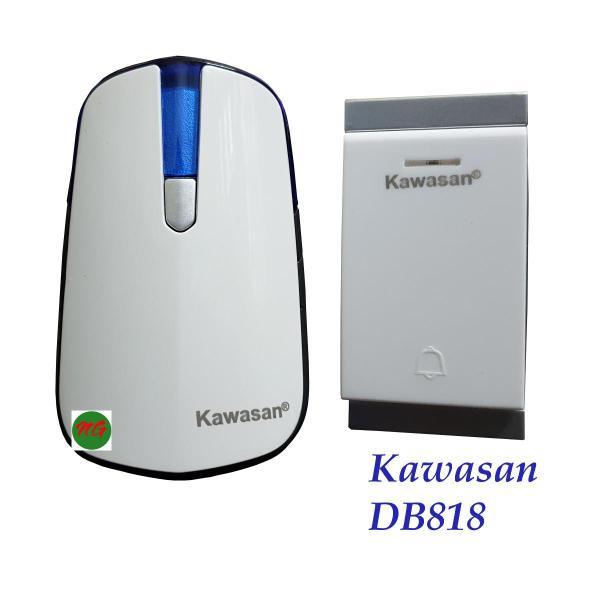 Chuông cửa cao cấp chống nước có nút nhấn không dùng pin kết nối thêm được chuông nút nhấn đầu cảm biến KAWASAN DB818