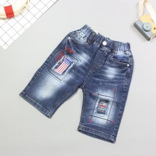 344A1 - Quần Jeans Short bé trai ( Quần áo trẻ em xuất khẩu ) thumbnail
