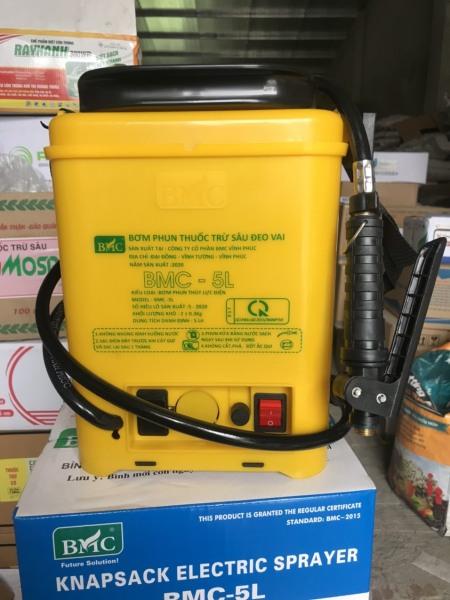 Bình bơm xịt điện 5 lít chính hãng BMC
