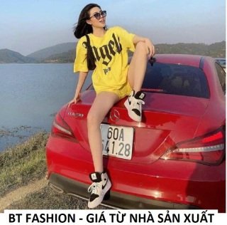 SET Bộ Đi Chơi Áo Thun Phom Rộng + Quần Sọt Thun Thời Trang HOT - BT Fashion (SE02) + Hình Thật, Video thumbnail