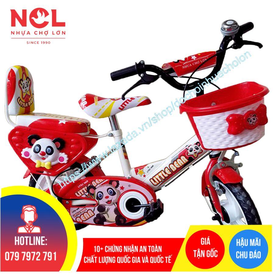 Mua Xe đạp trẻ em Nhựa Chợ Lớn 12 inch K85 - M1565-X2B