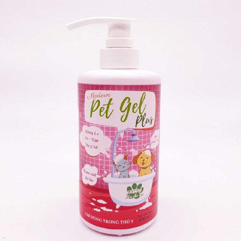 Sữa tắm Modern Pet Gel Plus 500ml chống ve rận - Cutepets