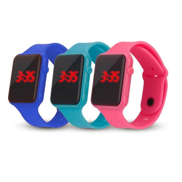 Nơi bán Đồng hồ trẻ em màn hình LED (Nhiều màu) [ Đồng hồ trẻ em nam nữ giá rẻ, đồng hồ học sinh dễ thương ]