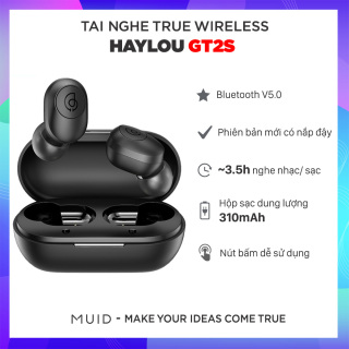 [HCM]Tai Nghe True Wireless HAYLOU GT2S ( Phiên Bản Nút Bấm Vật Lý) thumbnail