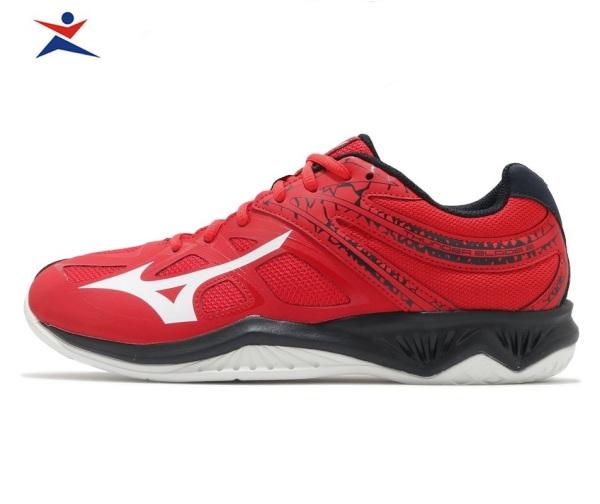 Giày cầu lông THUNDER BLADE 2 Mizuno V1GA197063 chính hãng dành cho nam, mẫu mới, chống lật cổ chân