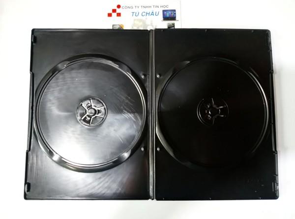 Bảng giá Hộp đựng đĩa CD - DVD nhựa đen (50 Hộp) Phong Vũ