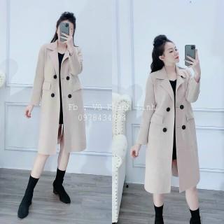 Áo khoác dạ nữ dáng dài style hàn quốc thumbnail