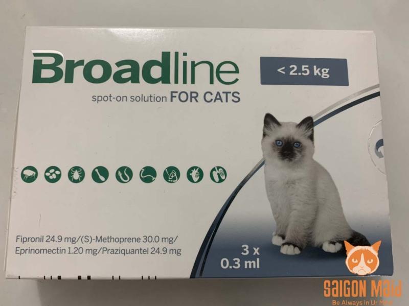 Tuýp nhỏ gáy dành cho mèo cưng của bạn Broadline 2,5kg (1 tuýp)