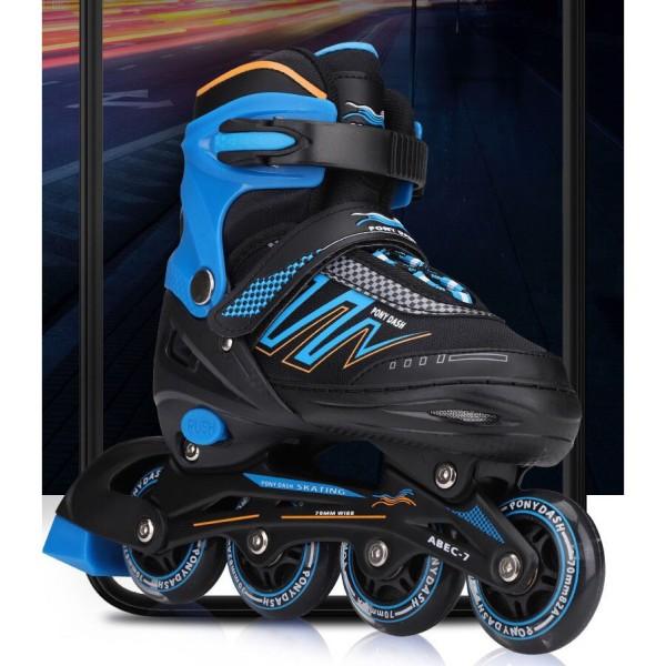 Mua Giày trượt patin Pony Dash 8 bánh phát sáng full flash có thể điều chỉnh to nhỏ