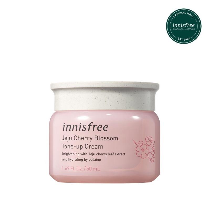 Kem Dưỡng Trắng Da Nâng Tone Tức Thì từ hoa anh đào Innisfree Jeju Cherry Blossom Tone Up Cream 50ml giá rẻ