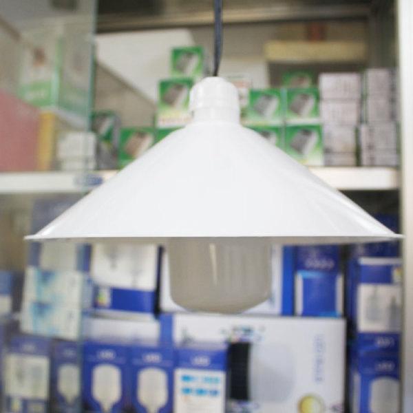 Bảng giá Chụp đèn chống mưa, chống chói kích thước 245mm x 78 mm - 119 - nhựa ABS - sx tại Việt Nam