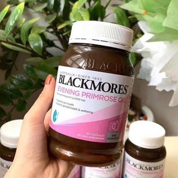 Tinh dầu hoa anh Thảo Blackmores Evening Primrose 190v(Hàng có bill)