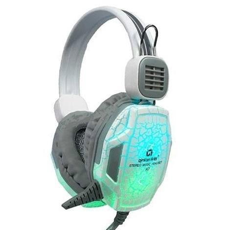 Giá [RẺ VÔ ĐỊCH] Tai Nghe Chuyên Game Qinlian A7 LED Chuyển màu Siêu Đẹp, Âm Siêu Hay ,Tai nghe ,tai nghe gaming ,tai nghe chụp tai ,Tai nghe qinlian A7 JACK  3.5 ,3HCOMPUTER