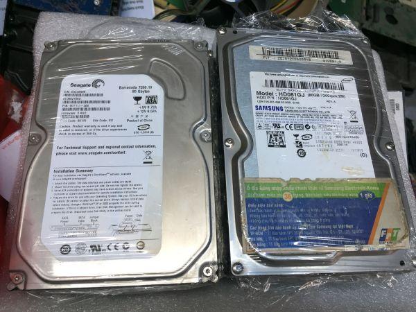 Bảng giá Ổ Cứng HDD Máy tính PC LAPTOP Sức khỏe GOOD 80G đến 500G Phong Vũ