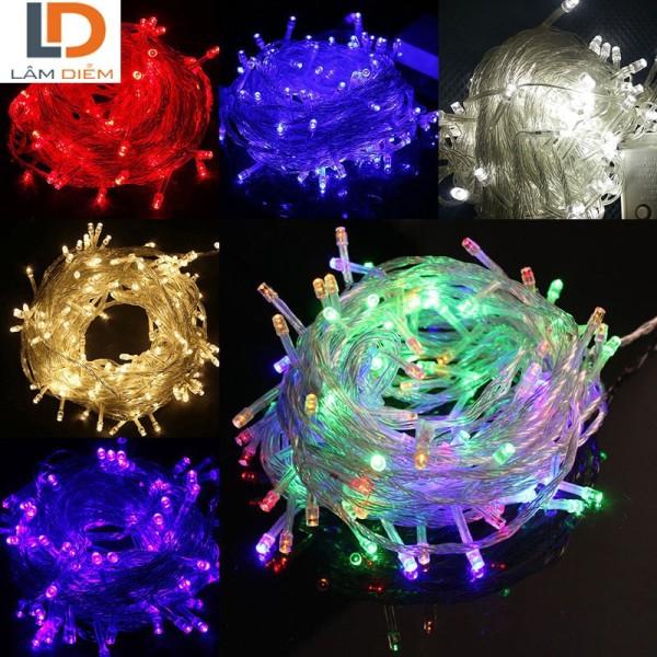 Đèn led trang trí dây 4m5 có đủ các màu. Độ sáng cao, sinh nhiệt rất thấp tiêu thụ điện năng thấp
