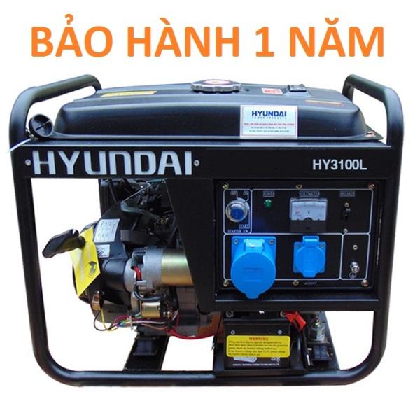 Máy Phát Điện 2.5KVA-2.8KVA Chạy Xăng Hyundai HY3100L