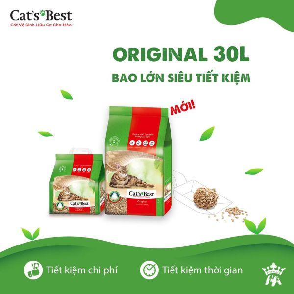 Cat Best (cát vệ sinh hữu cơ) Orginal 13kg