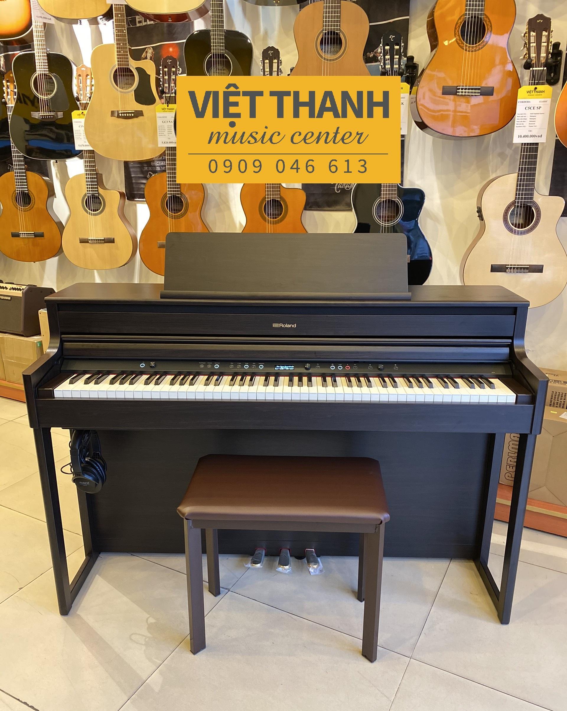 Giảm Giá Quá Đã Phải Mua Ngay Đàn Piano Điện Roland HP704 - Cực Mới, Giá Cực Tốt
