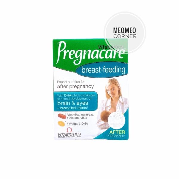 Vitamin Pregnacare bú cho mẹ Pregnacare Breast feeding Anh cao cấp