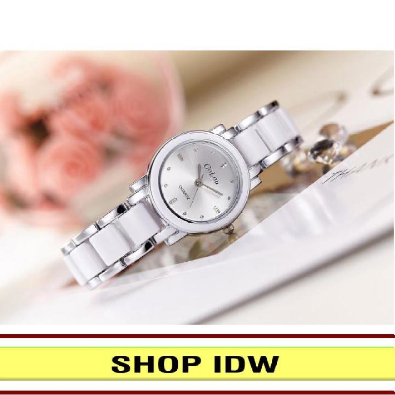 [Có video quay thật] Đồng hồ nữ dây kim loại thời trang Golou IDW 7172 (Nhiều màu lựa chọn)