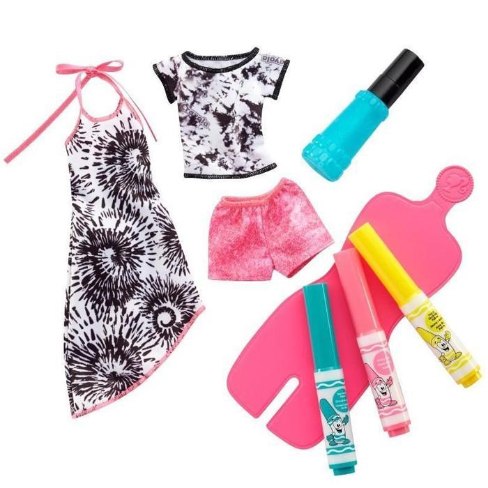 Voucher tại Lazada cho Phụ Kiện Màu Vẽ Thời Trang Barbie FPW12