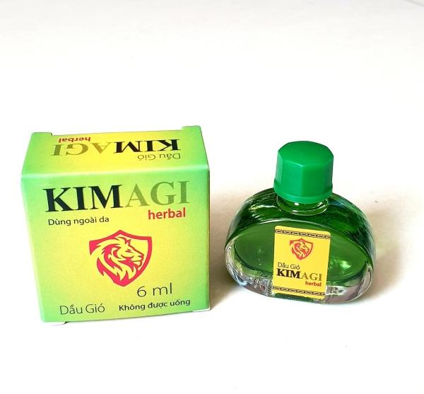 [HCM]Dầu gió KIMAGI herbal - Sản phẩm của cty dược Agimexpharm