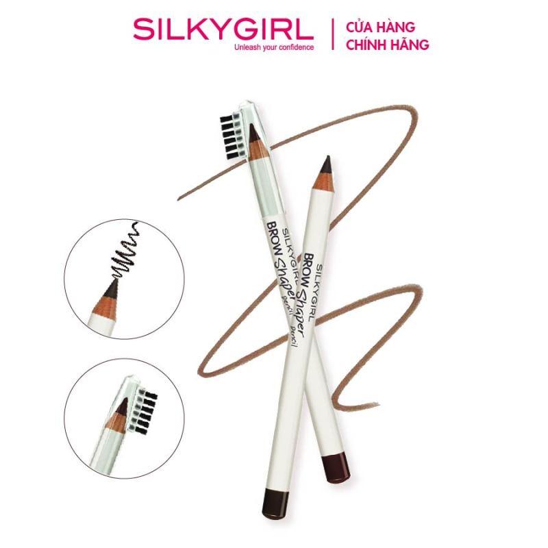 Chì Mày Kèm Chổi Silkygirl Brow Shaper Pencil 1.14g giá rẻ