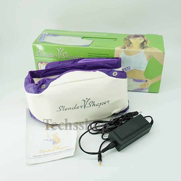 Đai massage giảm mỡ bụng Slender shaper BJ-9577 - Đai mát xa cao cấp - Đai matxa giảm béo - Máy chăm sóc sức khỏe - Máy massage làm đẹp cơ thể