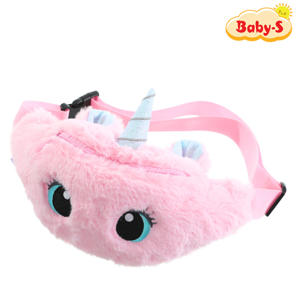 Giá bán Túi bao tử Unicorn cho bé gái bằng bông mịn màu pastel ngộ nghĩnh đáng yêu Baby-S – STX037