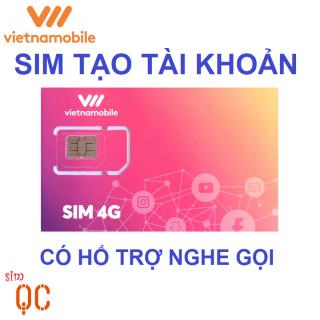 Sim 4G vietnamobile hạn sử dụng 30 ngày tạo tài khoản-CK thumbnail