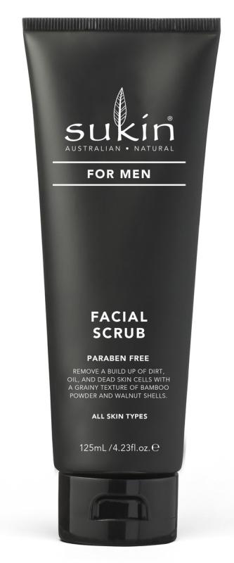 Sukin For Men Facial Scrub - Kem tẩy tế bào chết cho nam 125ml . giá rẻ
