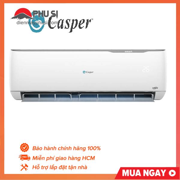 TRẢ GÓP 0% - BẢO HÀNH 3 NĂM - Máy lạnh Casper Inverter 1HP IC-09TL32 9000BTU - Tiết kiệm điện, tăng hiệu quả với công nghệ Inverter, hiệu suất cao. Sản xuất và nhập khẩu nguyên chiếc từ Thái Lan. Bảo hành 2 năm.