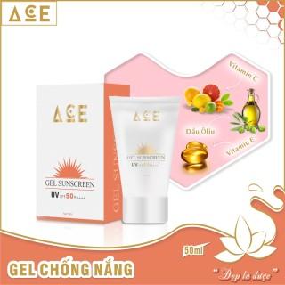 Gel chống nắng ACE dành cho da mặt 50ml UV SPF 50 PA +++ thumbnail