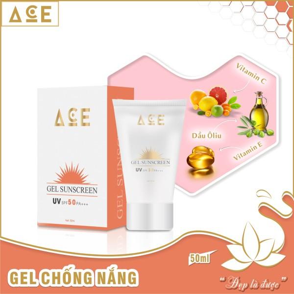 Gel chống nắng ACE dành cho da mặt 50ml UV SPF 50 PA +++