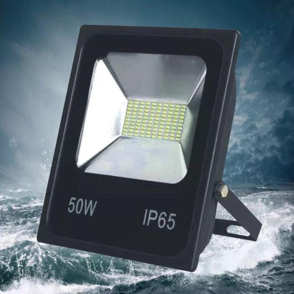 Bảng giá Đèn Pha LED 50w/100W/150w SMD IP65 Ngoài Trời Chống Mưa Tản Nhiệt Nhôm Tuổi Thọ Cao 220V