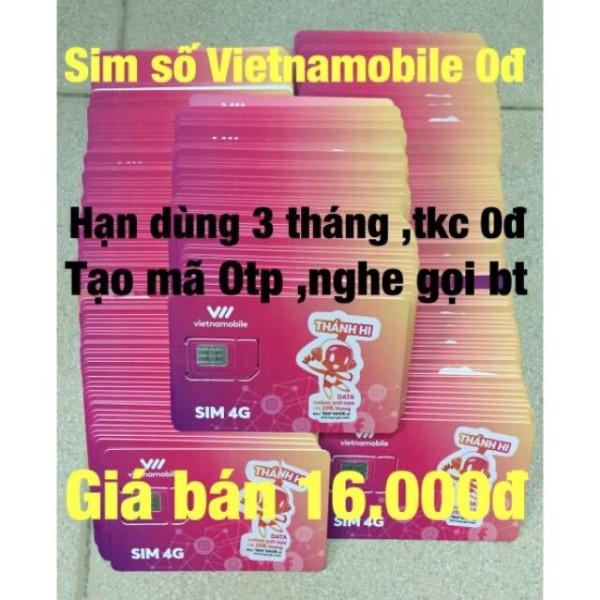 Sim Số Vietnamobile Tkc 0Đ Nghe Gọi Nhận Mã Tạo Tài Khoản