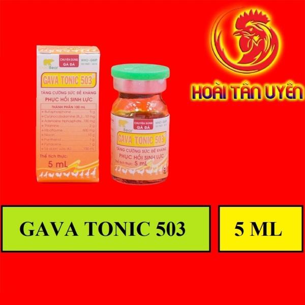 ComBo 10 lọ Thuốc nuôi tăng bo gà đá GAVATONIC 503
