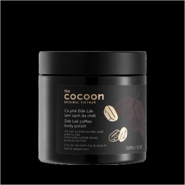 Tẩy da chết Cà phê Đăk Lăk nguyên chất Cocoon 200ml
