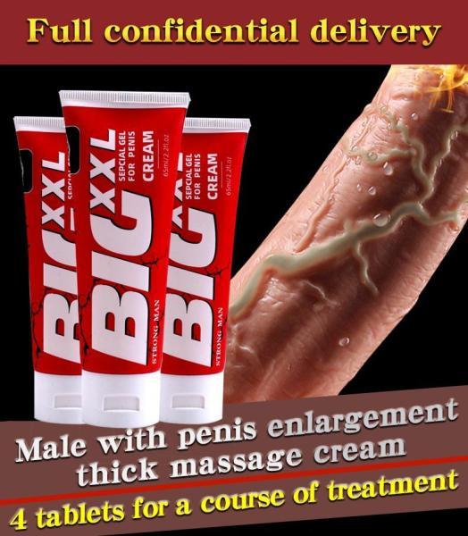BIG XXL Kem Massage Tăng Kích Thước Cho Phái Mạnh