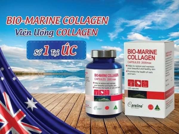 (Hàng Auth, Có Bill) Viên uống Ngăn ngừa lão hóa, giảm nếp nhăn BIO MARINE COLLAGEN 100 viên Úc