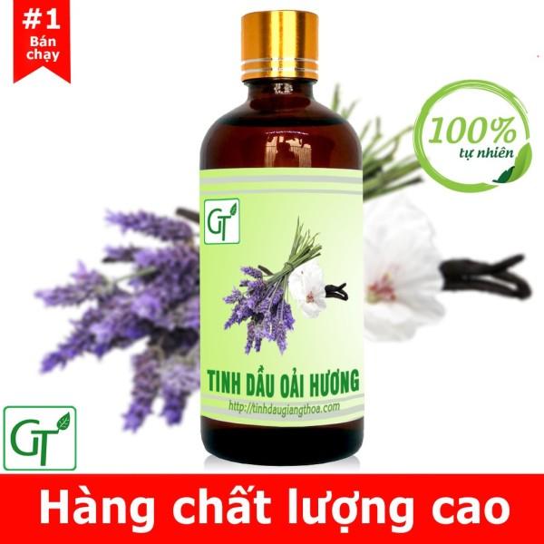 Tinh dầu Oải Hương (Lavender) nguyên chất 100% - Pháp - Xông phòng chăm sóc da, thơm sang trọng nhập khẩu