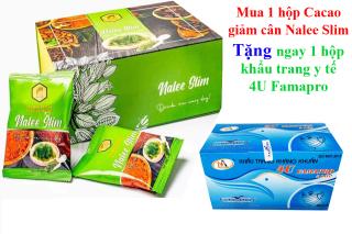Giảm cân Cacao NALEE SLIM mẫu mới (tặng 1 hộp khẩu trang y tế 4U Famapro) thumbnail