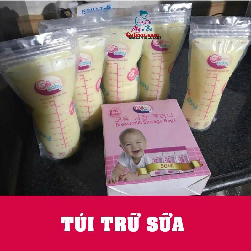 Hộp 50 Túi Trữ Sữa GB Baby - Hàn Quốc