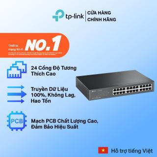 Bộ Chia Tín Hiệu TP-Link TL-SF1024D 24 cổng RJ45 10/100 Mbps - Hãng phân phối chính thức