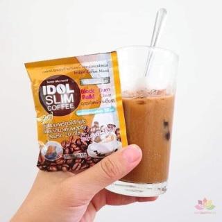 Giảm Cân cà phê 1 hộp 10 gói Giảm cân nhanh Idol slim giảm cân 3