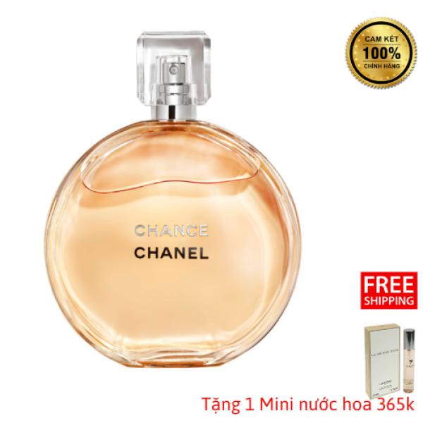 [CHÍNH HÃNG] Nước Hoa Nữ Cao Cấp Chanel Chance EDP 100ML - Gợi Cảm