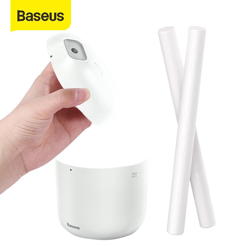 [Hot deal] Máy tạo độ ẩm Baseus thông minh Dung tích 600ML Máy khuếch tán không khí tạo độ ẩm cho văn phòng Phòng ngủ Kết hợp Ánh sáng ban đêm Không tiếng ồn Tính năng tự tắt máy thông minh sau 10h sử dụng