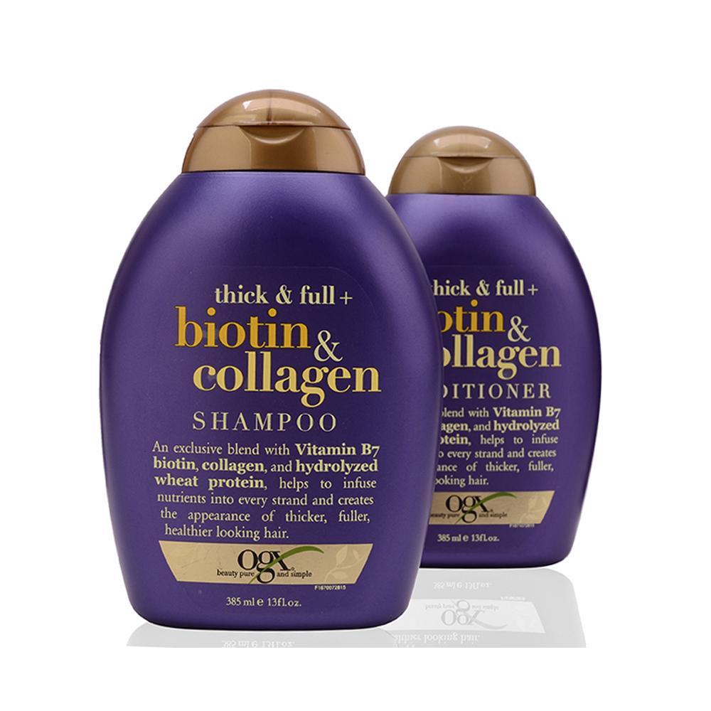 Bộ Dầu Gội Và Xã Thick And Full Biotin Collagen Organix Của Mỹ giá rẻ