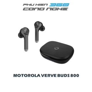 [HCM]Tai nghe nhét tai bluetooth không dây TWS sạc không dây - Motorola - VerveBuds800-Hỗ trợ sạc không dây- Type C- Thời gian chơi nhạc 18h[HÀNG CHÍNH HÃNG] thumbnail