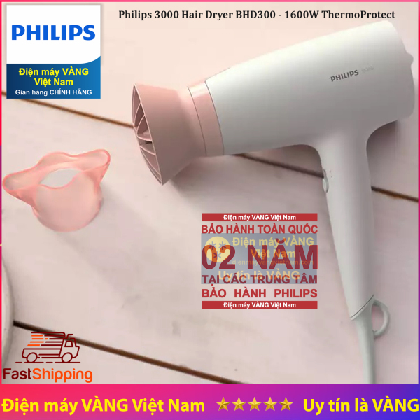 Máy sấy tóc Essential Series 3000 Philips BHD300 giá rẻ